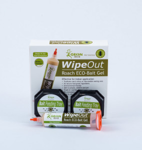 WipeOut ECO-Bait Gel Contents: 1 Prefilled Disposable Injector. 2 Bait Feeding Trays.